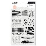 11 tampons clear clear stamp - textures