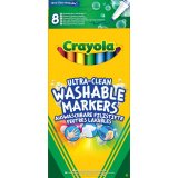8 feutres fins ultra lavables - Crayola