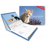 L'agenda-calendrier Chats et chatons 2015