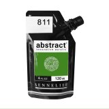 Peinture acrylique abstract - Vert permanent clair n°811 - 120 ml
