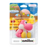 Amiibo - Yoshi de Laine Rose - Yoshi's Woolly World Collection