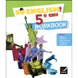 Anglais 5e Cycle 4 So English! - Workbook