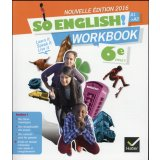 Anglais 6e A1-A2 So english ! - Workbook