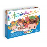 Coffret Aquarellum - Masques Princesses
