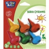 Boîte 6 Baby Crayons