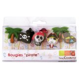 8 bougies pirates - Scrapcooking