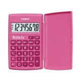 Calculatrice de poche Casio - Petite FX rose