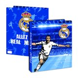Classeur polypro - Real Madrid - dos 40mm