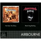 Coffret 2CD - Airbourne - No Guts. No Glory & Black Dog Barking