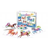 Coffret Aquarellum junior - chevaux
