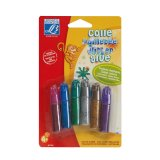 Colle pailletée 6x5.5ml