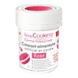 Colorant artificiel en poudre - rose - 5g - Scrapcooking