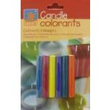 Colorants bougie 6 couleurs assorties