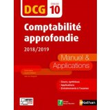 Comptabilité approfondie DCG 10 - Manuel & applications