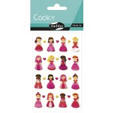 Stickers Princesses - Cooky