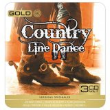 COUNTRY LINE DANCE GOLD METAL