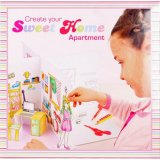 Album à stickers - Create Your Home Appartement