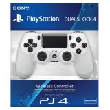 Manette Dualshock 4 Blanche PS4 Sony
