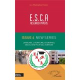 E.S.C.A. Research Papers Issue 4 New Series - Language, Literature, Economics, Social and Political Sciences