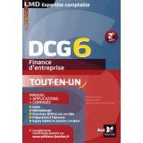 Finance d'entreprise DCG 6 - Manuel + applications + corrigés