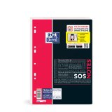 Feuillets mobiles Oxford - 21x29,7 cm - 400 pages - 5x5 mm