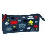 Fourre-tout rectangulaire Space Invaders - 23.5x11.5 - Quo Vadis