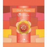 18 feuilles Glit's Paper - Rouge / Orange - Avenue Mandarine