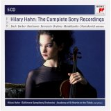 HILARY HAHN - THE COMPLETE SONY RECORDIN