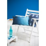 Shades of Blue - Housse de coussin « Tie and Dye »