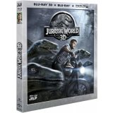 Jurassic World 3D - Blu-ray 3D + Blu-ray 2D + Copie digitale