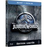 Jurassic World - Steelbook Blu-ray + Copie digitale