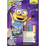 Kit Crayola Color Alive - Les Minions