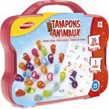 Mallette tampons animaux