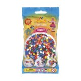 Sachet 1000 perles MIDI - base mix 10 couleurs - Hama