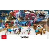 Amiibo - Pack 4 figurines The Legend of Zelda : Breath of the Wild Collection (Urbosa + Daruk + Mipha + Revali)