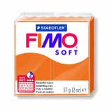 FIMO SOFT - orange clair - n°41 - 57g