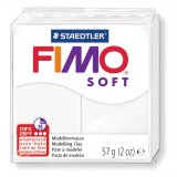 FIMO SOFT - blanc opaque - n°0 - 57g
