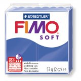 FIMO SOFT - bleu brillant - n°33 - 57g