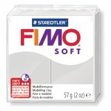 FIMO SOFT - gris - n°80 - 57g