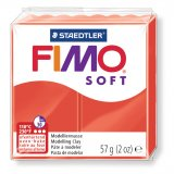 FIMO SOFT - rouge indien - n°24 - 57g