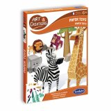Kit «Paper toys» - Animaux de la savane