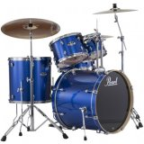 Pearl - Batterie acoustique Export Stage 22 Electric Blue Spakle