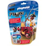 Pirate avec canon rouge - Playmobil - 6163