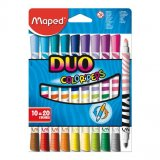 10 feutres Color'Peps duo