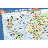 Puzzle Observation - animaux