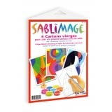 Sablimage - Recharge 4 cartons neutres