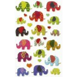 Stickers Cooky - Elephants