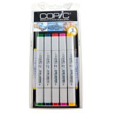 5 Copic Marker - couleurs vives