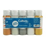 Set de peinture acrylique - Cultura Collection - 3 x 59 ml - Cultura