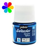 Setacolor opaque - 45ml - bleu jean n°84